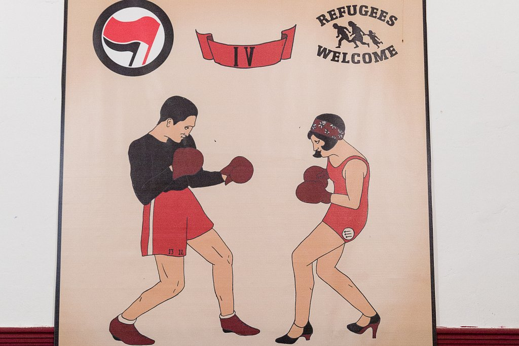 Micropolis Fight Club: When martial arts take on fascism